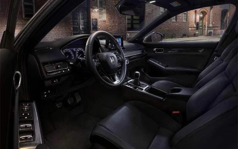 Honda Civic Hatchback Interior