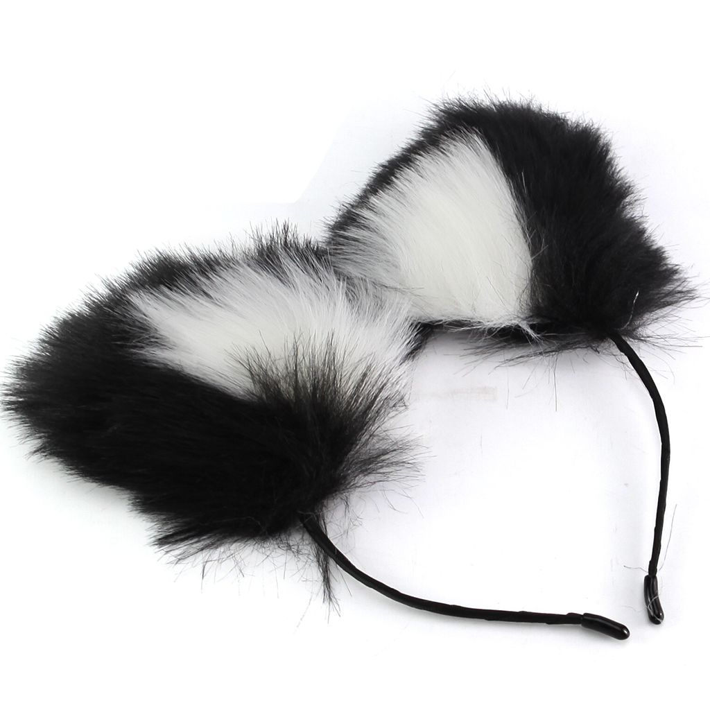 STER-TSP Wine Red Bu-tt Plug Fox Tail Play Cosplay Women Valentines Day Gifts