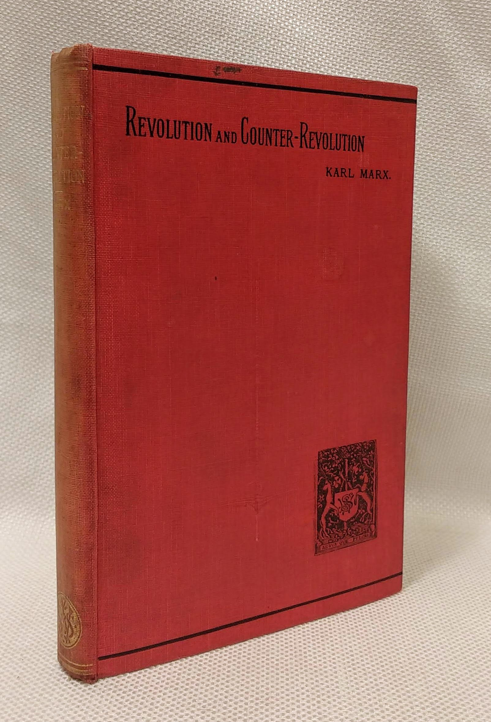 Revolution and Counter-Revolution in Germany in 1848, Marx, Karl and Friedrich Engels