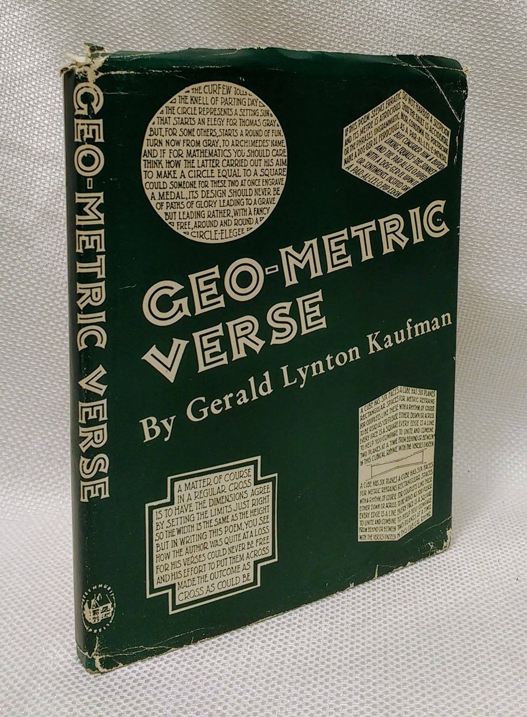 Geo-Metric Verse: Poetry Forms in Mathematics Written Mostly for Fanatics, Kaufman, Gerald Lynton