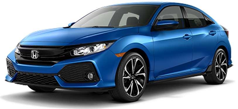 2018 Civic Sport FWD 5D Hatchback Lease Deal in Ann Arbor Michigan
