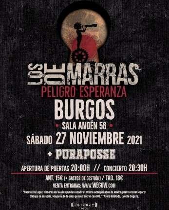 Los de Marras en Burgos