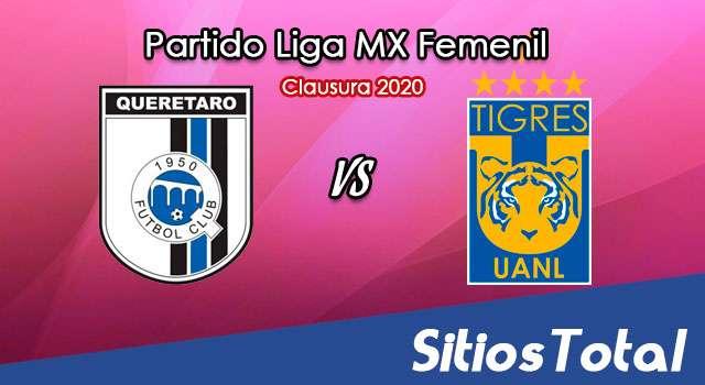 Ver Querétaro vs Tigres en Vivo – Liga MX Femenil – Guardianes – Lunes 21 de Septiembre del 2020