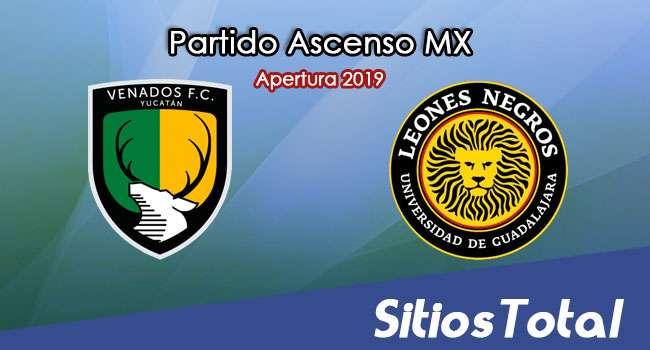 Ver Venados vs Leones Negros en Vivo – Ascenso MX en su Torneo de Apertura 2019