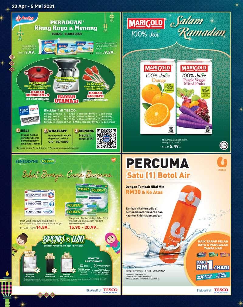 Tesco Catalogue(22 April 2021 - 5 May 2021)