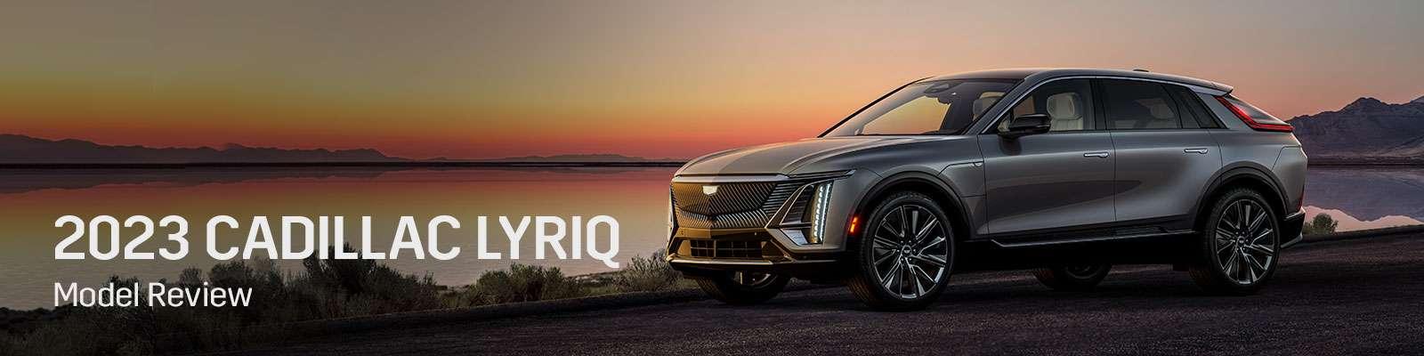 2023 Cadillac Lyriq Model Overview - Germain Cadillac of Easton
