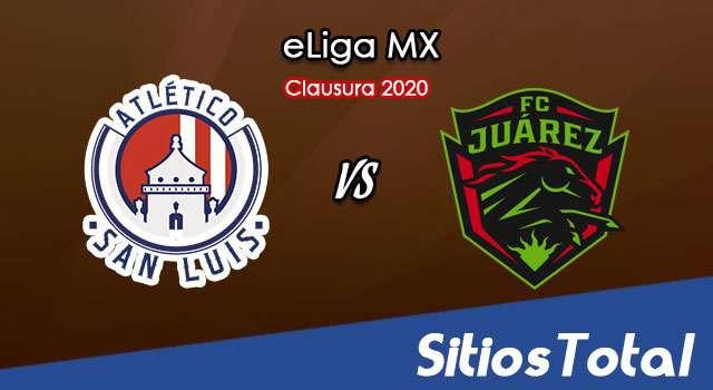 Atlético San Luis vs FC Juarez en Vivo – eLiga MX – Miércoles 6 de Mayo del 2020