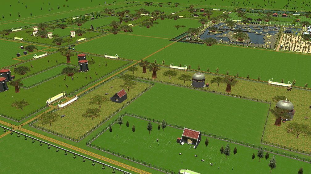 Illustration 08, My Downloads, Parks, Scenarios, & Sandboxes - FTA's Zoo Starter Sandbox