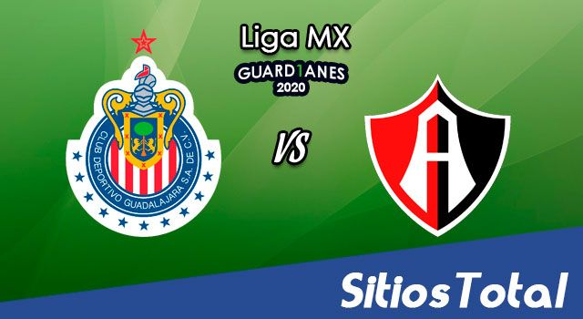 Chivas vs Atlas en Vivo – Liga MX – Guardianes 2020 – Sábado 17 de Octubre del 2020