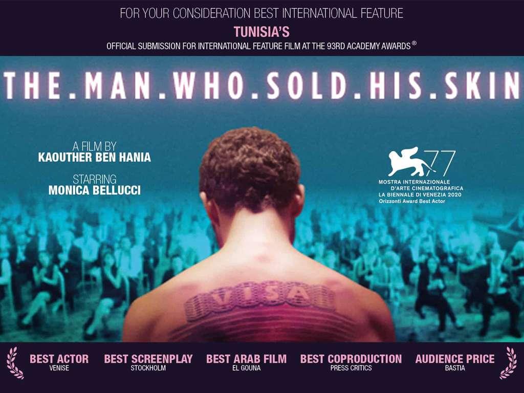 Ο Άνθρωπος που Πούλησε το Δέρμα του (L' Homme Qui Avait Vendu Sa Peau / The Man Who Sold His Skin) Quad Poster