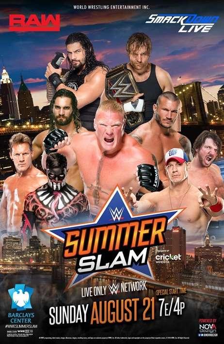 العرض المنتظر SummerSlam 2016 نسخه