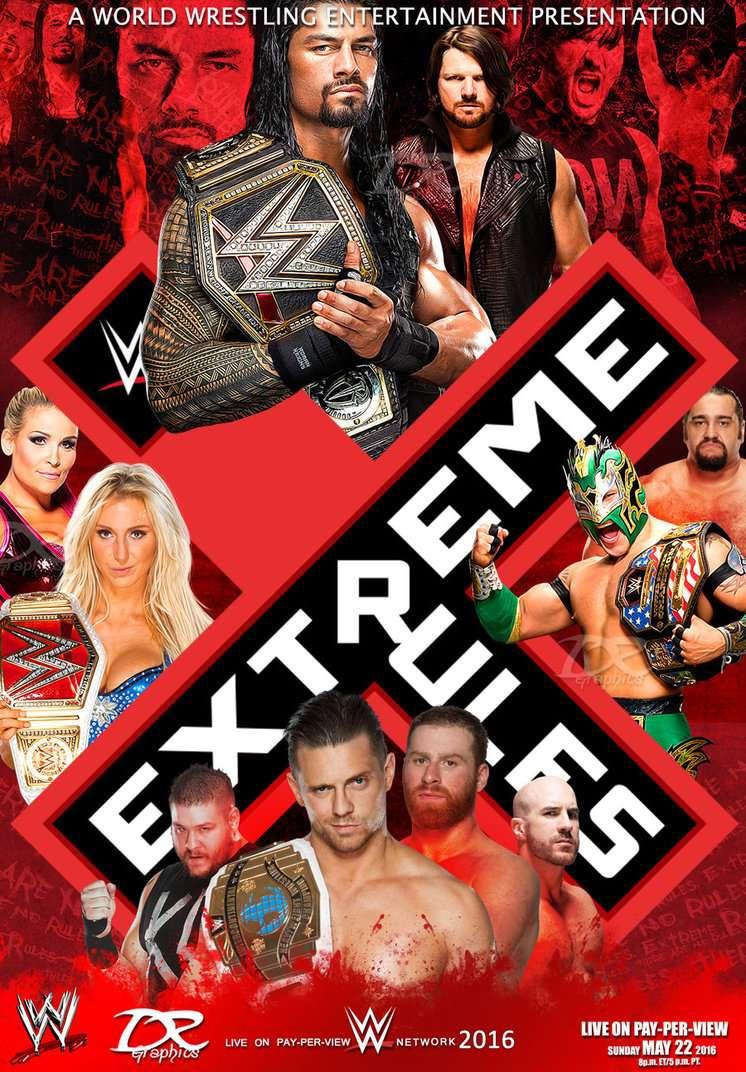 المهرجان المنتظر Extreme Rules 2016