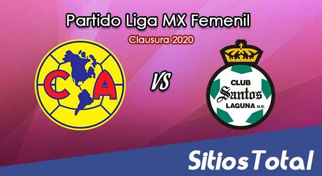 Ver América vs Santos en Vivo – Liga MX Femenil – Clausura 2020 – Lunes 20 de Enero del 2020