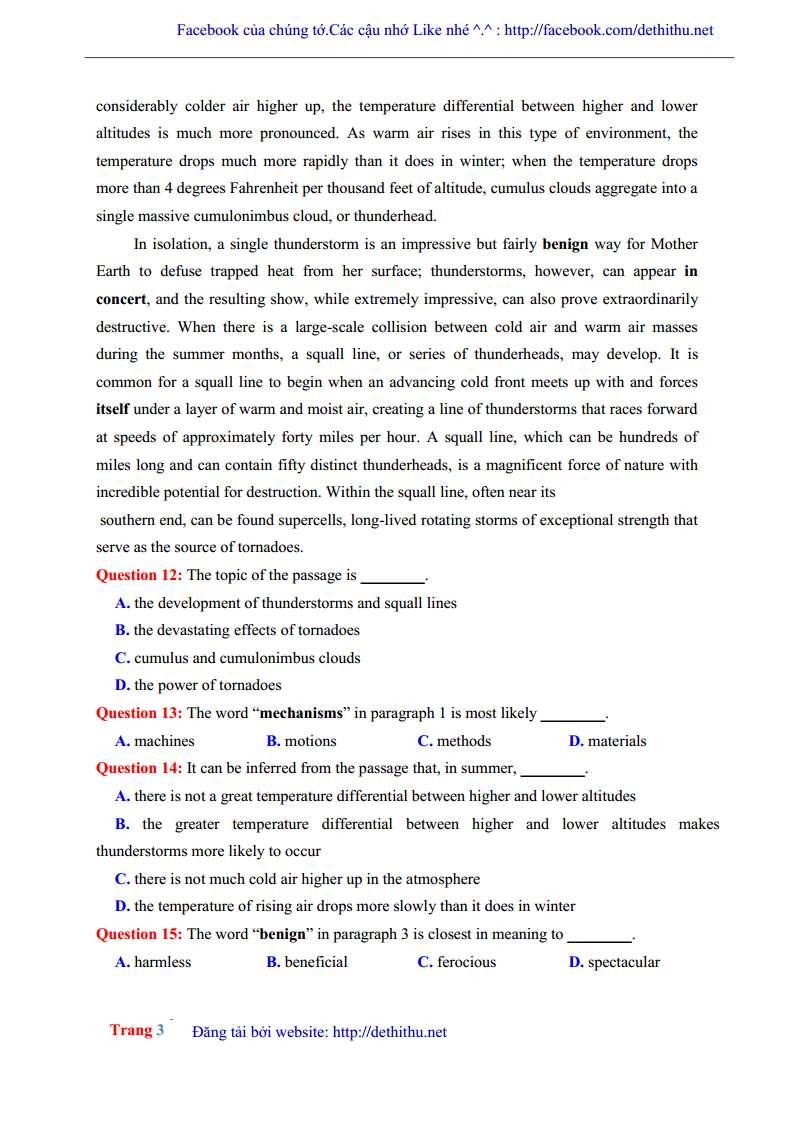 De thi giai chi tiet mon tieng Anh 2018 THPT Chuyen Ha Giang trang 13