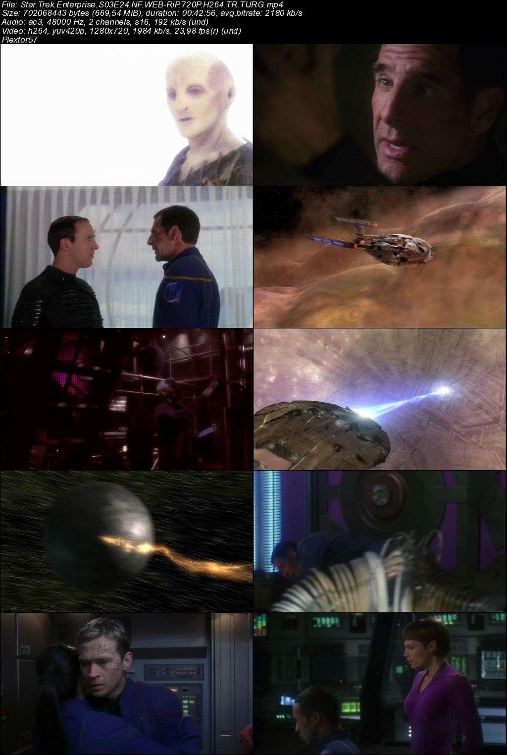 star trek enterprise tum bolumler