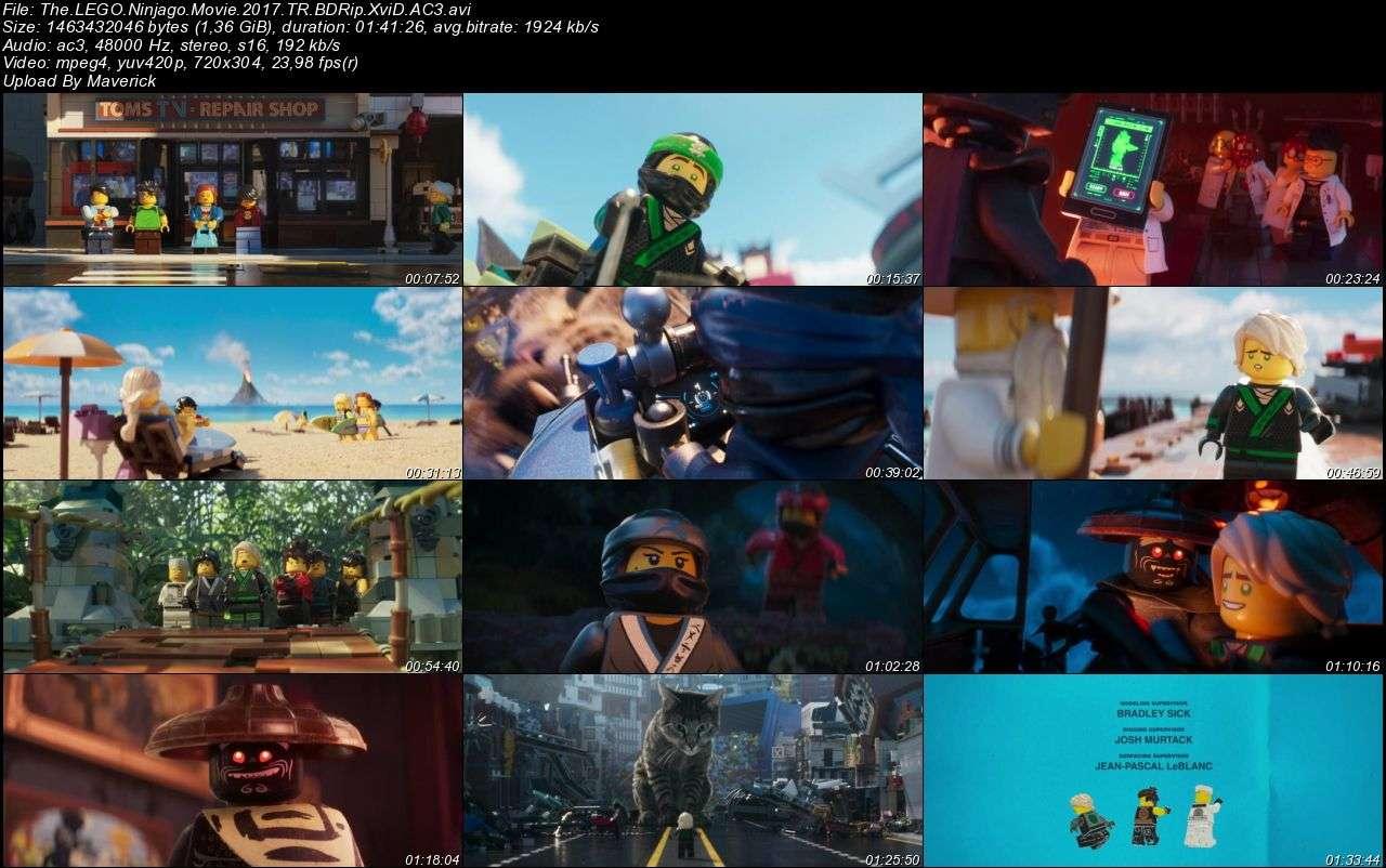 Lego Ninjago Filmi - 2017 Türkçe Dublaj BDRip XviD indir