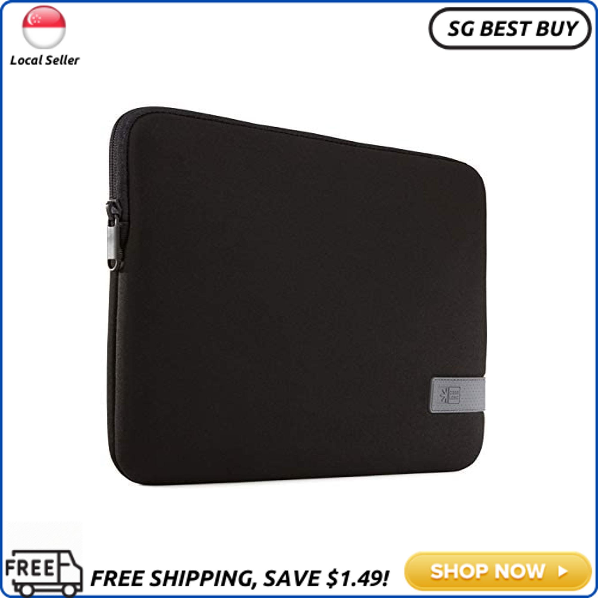 (SG SELLER) Case Logic Reflect 13 MacBook Pro Sleeve-Dark Blue, Black
