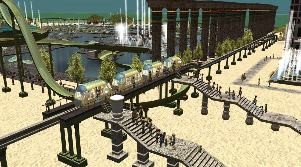 Image 04 - Parks, Scenarios, & Sandboxes - Scenario: Water World Resort