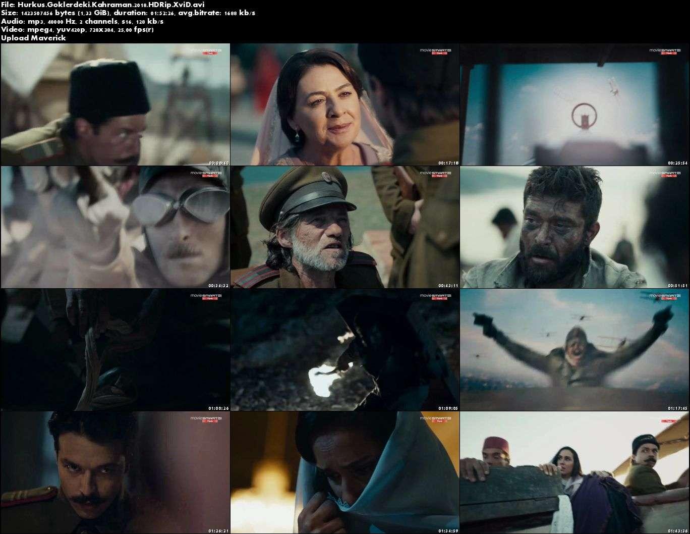 Hürkuş - 2018 (Yerli Film) HDRip XviD indir
