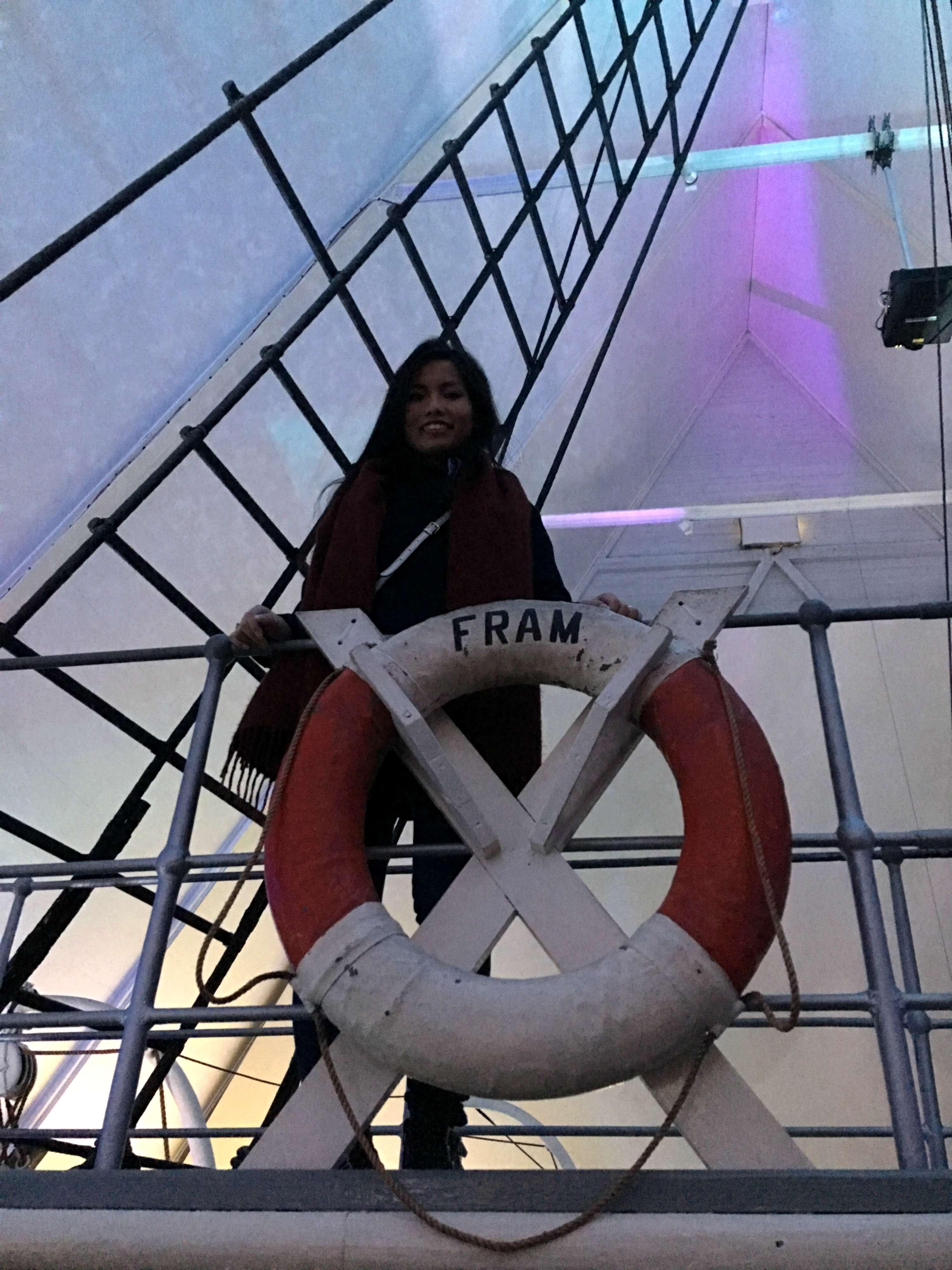 Onboard Fram