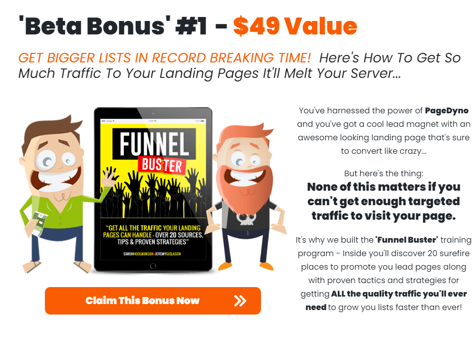Page Dyno Review - Vendor Bonus 1 - Funnel Buster
