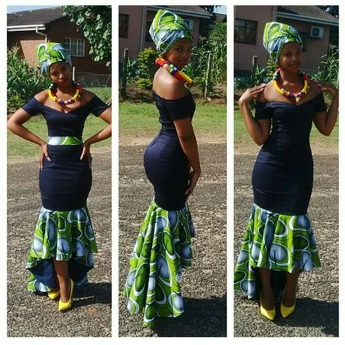Zambia Fashion, made with Ankara