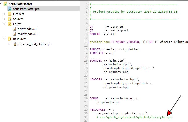QT Creator Serial Port Plotter | Qt Forum