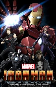 Iron Man: Rise of Technovore's Cover Image