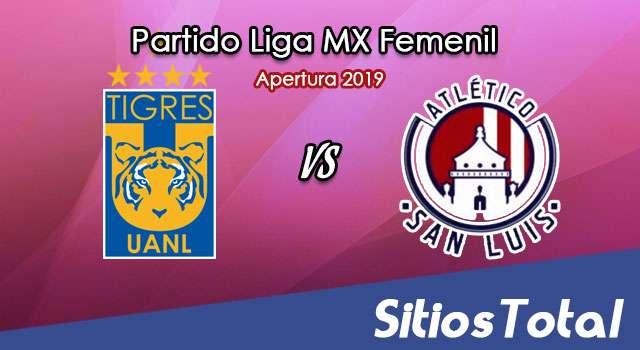 Ver Tigres vs Atlético San Luis en Vivo – Liga MX Femenil – Apertura 2019 – Sábado 14 de Septiembre del 2019