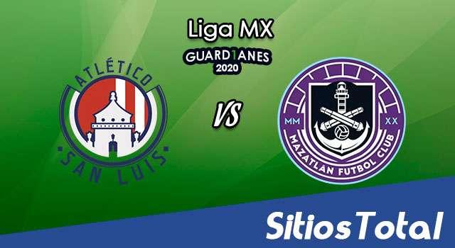 Atlético San Luis vs Mazatlán FC en Vivo – Liga MX – Guardianes 2020 – Jueves 29 de Octubre del 2020