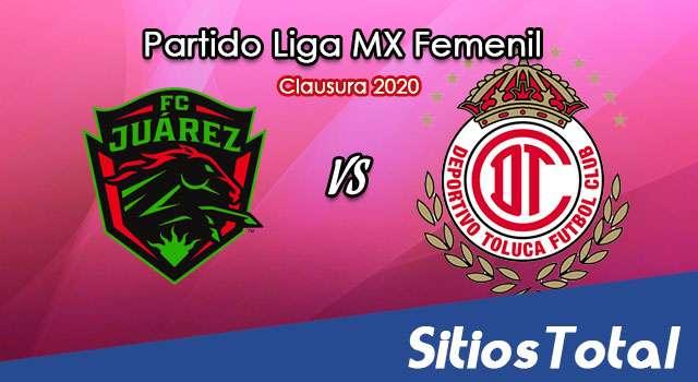 Ver FC Juarez vs Toluca en Vivo – Liga MX Femenil – Guardianes – Lunes 28 de Septiembre del 2020