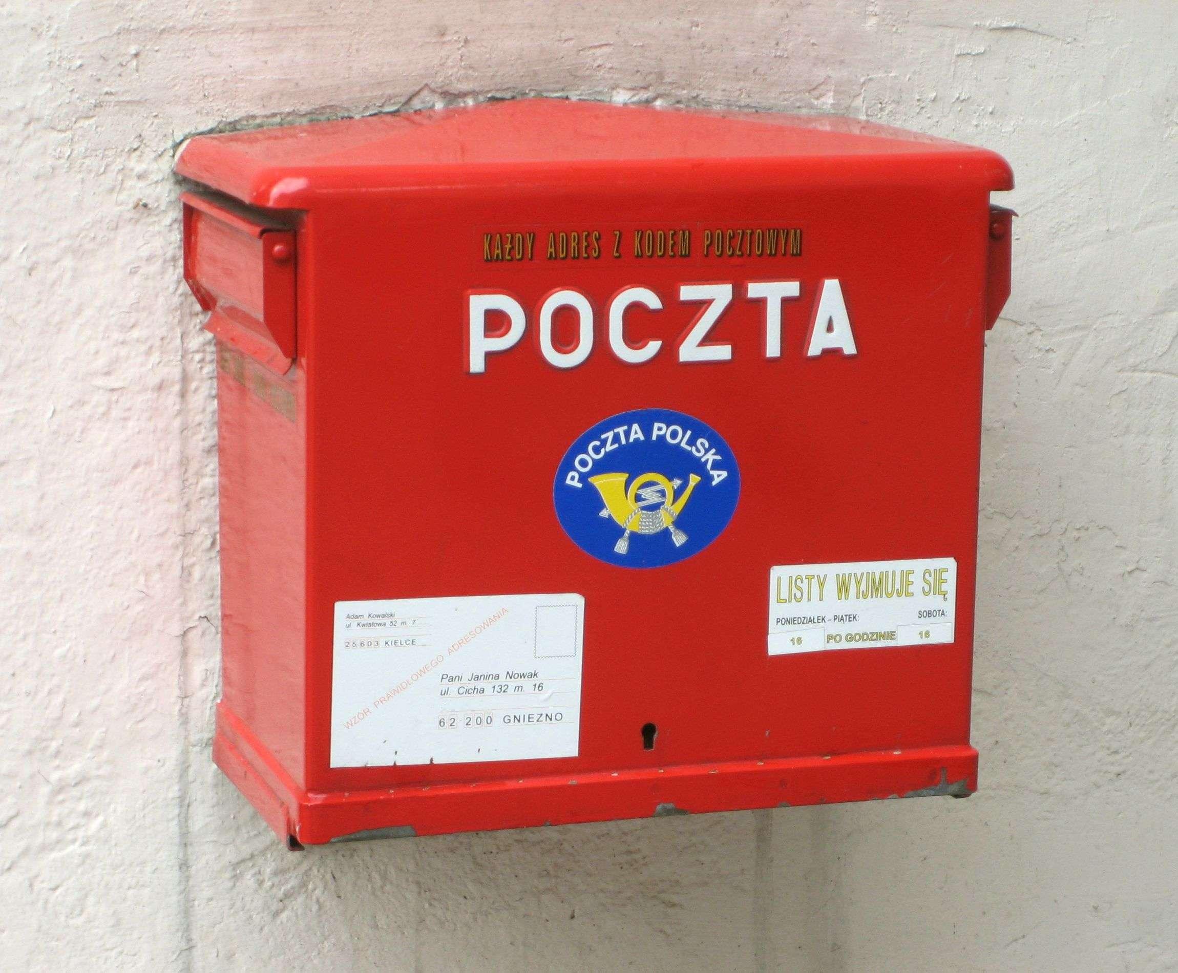 Organizacje apelują dourzędników samorządowych onieprzekazywanie danych Poczcie Polskiej
