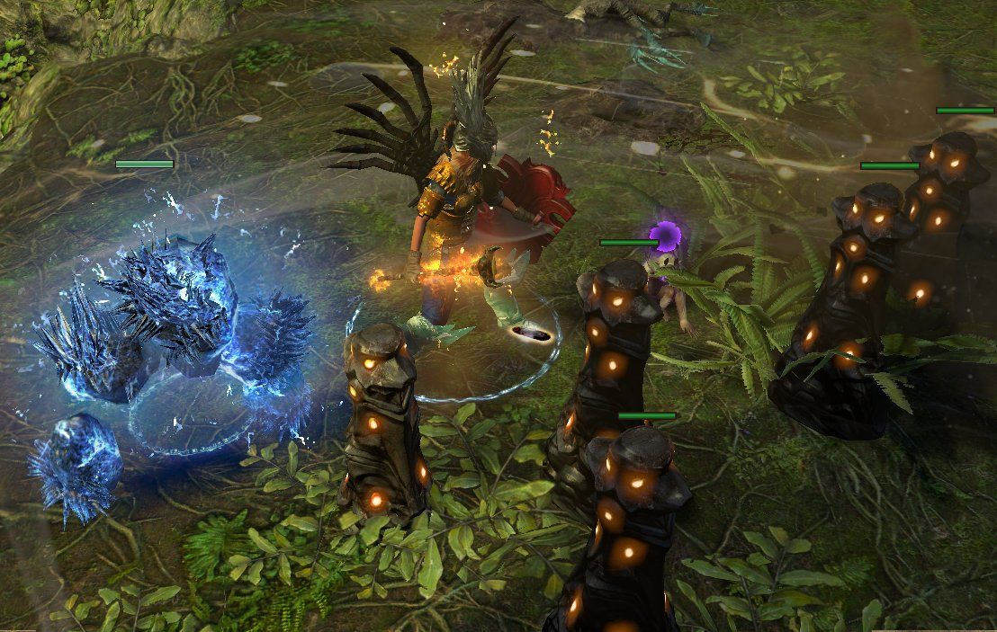 Forum - Scion - [3 3] Fiery Shockwaves, Totems Galore (HC/SC