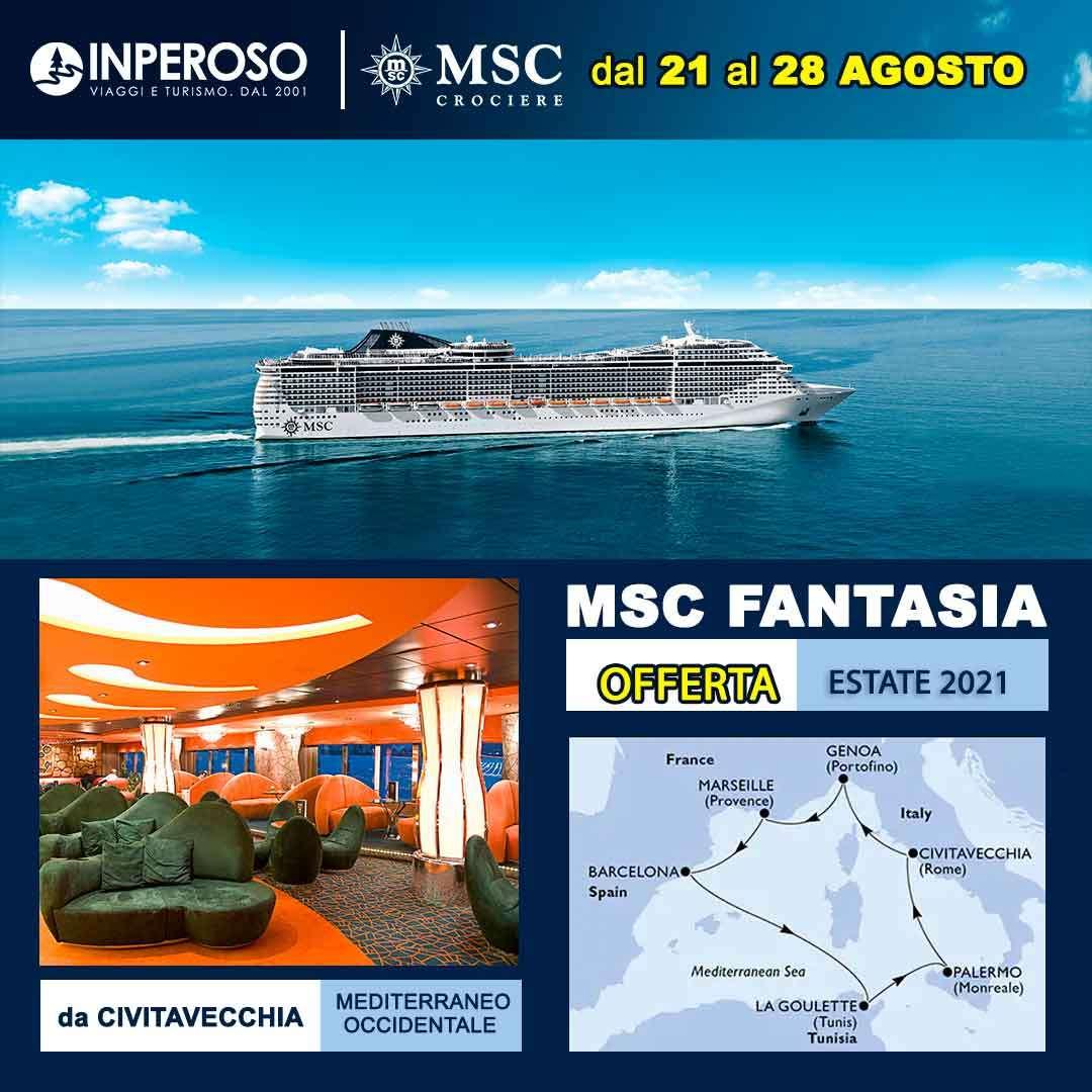 Immagine di: MSC FANTASIA - OFFERTA SALVAESTATE