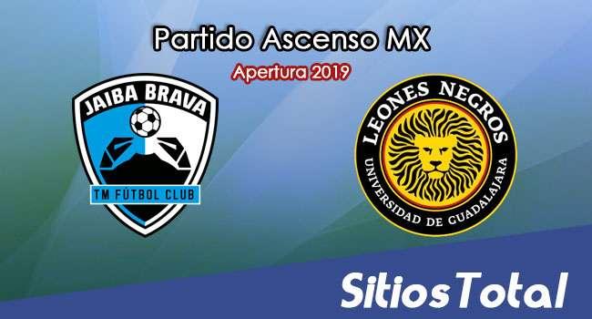 Ver Tampico Madero vs Leones Negros en Vivo – Ascenso MX en su Torneo de Apertura 2019