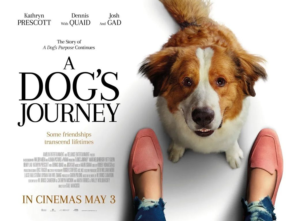 Ένας Αληθινός Φίλος (A Dog's Journey) Quad Poster Πόστερ
