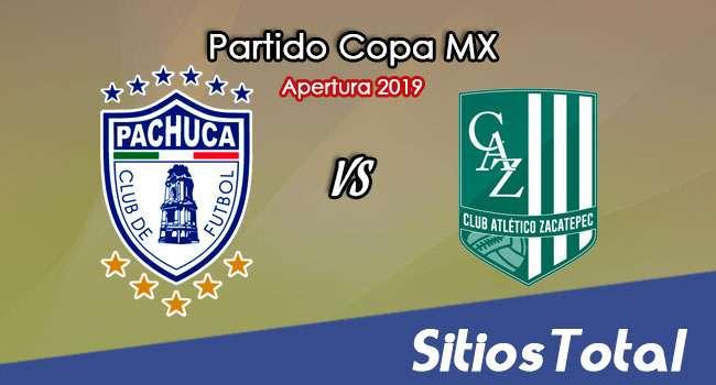 Pachuca vs Atlético Zacatepec en Vivo – Copa MX – Martes 13 de Agosto del 2019