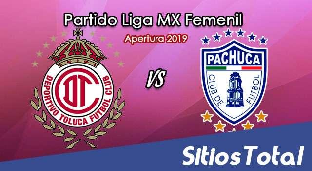 Ver Toluca vs Pachuca en Vivo – Ida Cuartos de Final – Liga MX Femenil – Apertura 2019 – Viernes 15 de Noviembre del 2019