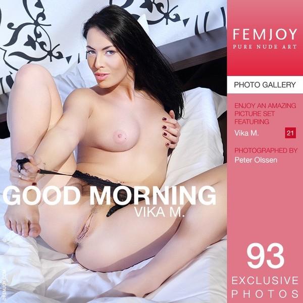 Fem Joy - 2014-05-15 - Vika M. - Good Morning - By Peter Olssen 93 2667X4000