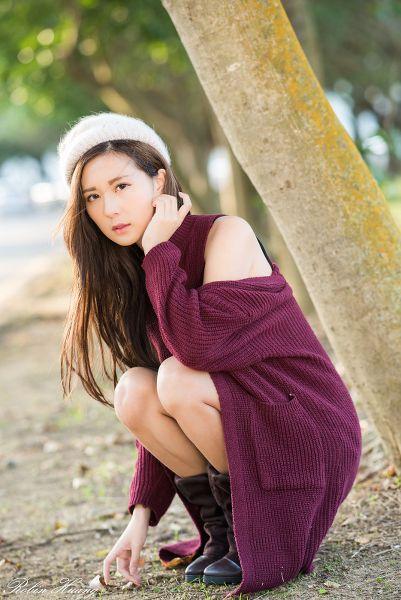 台湾外拍 2017-12-24 陳郁晴(羽晴Min) 石門水庫