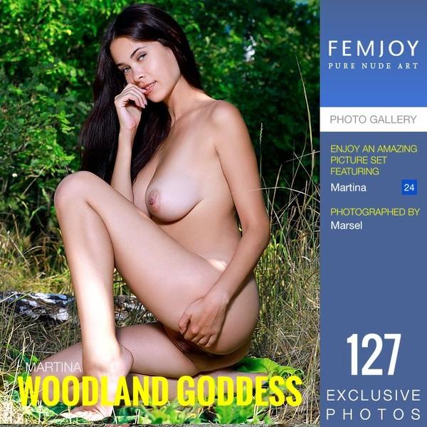 Fem Joy - 2019-08-10 - Martina - Woodland Goddess - By Marsel 127 3334X5000