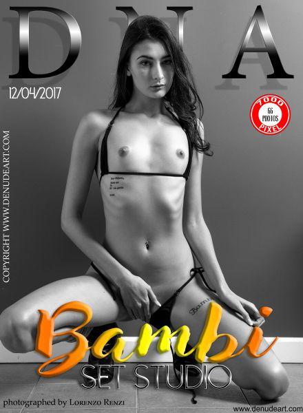 DeNudeArt - 2017-04-12 - Bambi - Set Studio