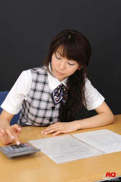 RQ-STAR NO.1086 Honoka Asada 浅田ほのか Office Lady