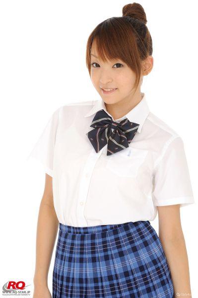 RQ-STAR NO.0089 Mio Aoki 青木未央 Seifuku