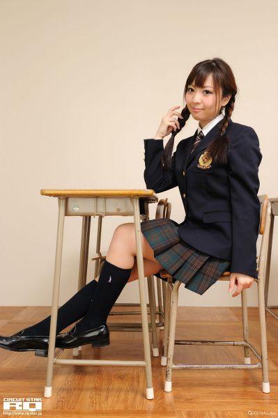 RQ-STAR NO.0515 Mayuka Kuroda 黒田万結花 Student Style