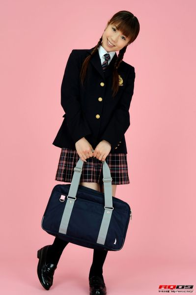 RQ-STAR NO.0163 Yuko Momokawa 桃川祐子 Student Style