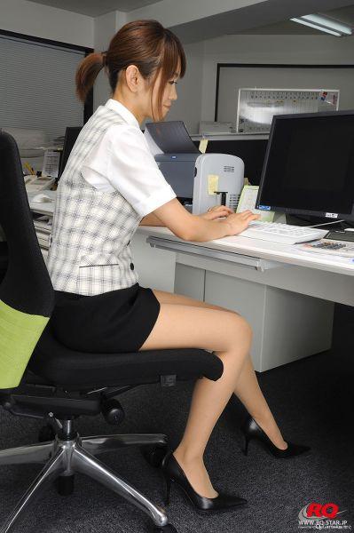 RQ-STAR NO.0055 Kotomi Kurosawa 黒沢琴美 Office Lady
