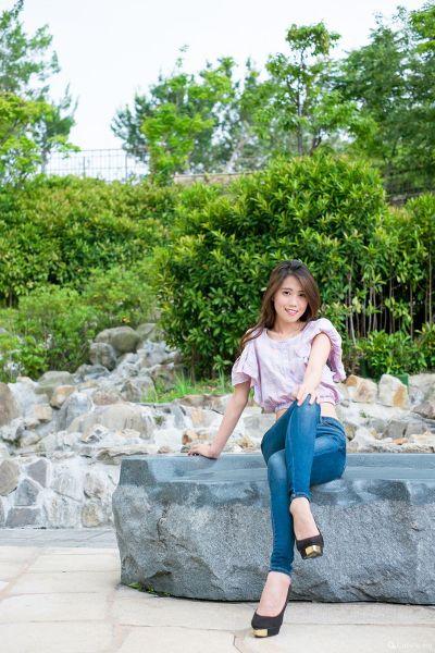 寶兒(Candy Chang) 大安森林公園