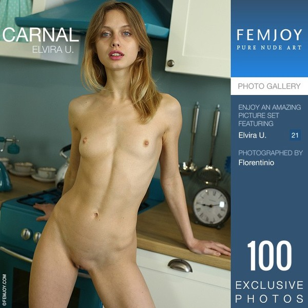 Fem Joy - 2019-07-05 - Elvira U. - Carnal - By Florentinio 100 3334X5000