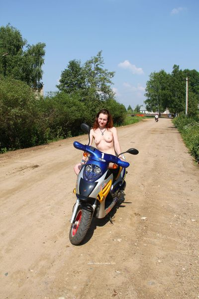 NudeInRussia - 2017-09-05 - Alice 2 - Set 4 - Ride On The Scooter In Tver